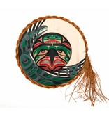 Eagle Raven Moon Mask by Patrick Amos (Nu-chah-nulth)
