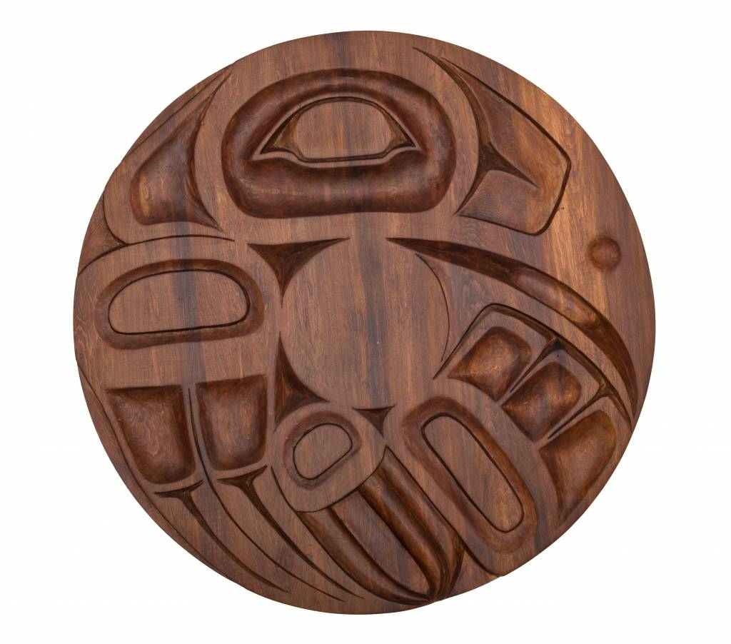 Raven Panel by Curtis Joe (Coast Salish).