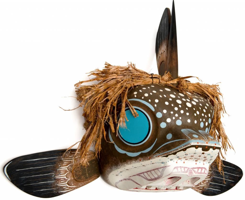 Ratfish mask by Shawn Karpes (Kwak'waka'wakh)