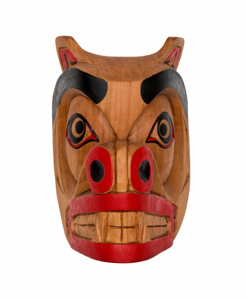 Bear Mask by Curtis Joe (Coast Salish)