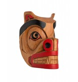 Bear Mask by Curtis Joe (Coast Salish)