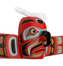 Hawk Mask By Gene Brabant