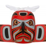 Hawk Mask By Gene Brabant (Cree)