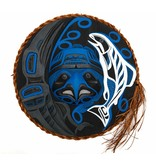 Eagle, Raven and Spirit Salmon Moon Mask by Patrick Amos (Nu-chah-nulth)