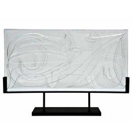 Butterfly Glass Panel by Corey Bulpitt
