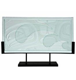 Sea Chief Glass Panel by Corey Bulpitt