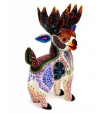 White Deer Alebrije by Luis Sosa (Zapotec)