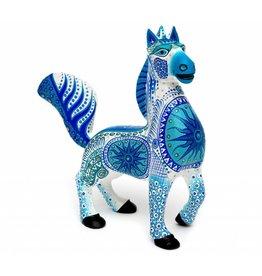 Blu Horse Alebrije by Luis Sosa
