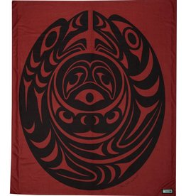 Fleece Salish Serpent Blanket