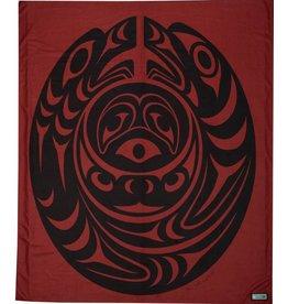Fleece Salish Serpent Blanket