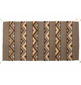 Handmade Rug (brown tones)