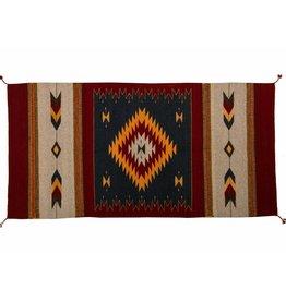 Handmade Coloured Rug