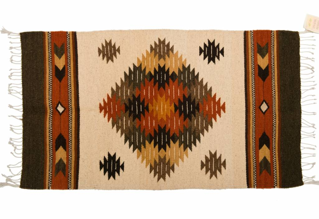 Small Hand Made Rug (Zapotec)