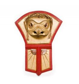 Gitxsan Red Tailed Hawk / Copper Shield / Sun