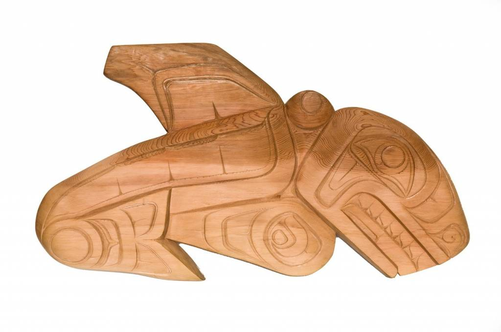 Killer Whale Carving (Tsimshian, Gitxsan).