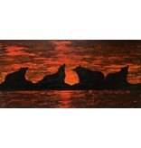 Red Bears by Kevin Cardinal (Cree).
