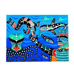Painting - 'Undersea World'