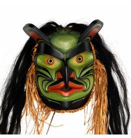 Bugwas Mask by Janice Morin and Randy Stiglitz