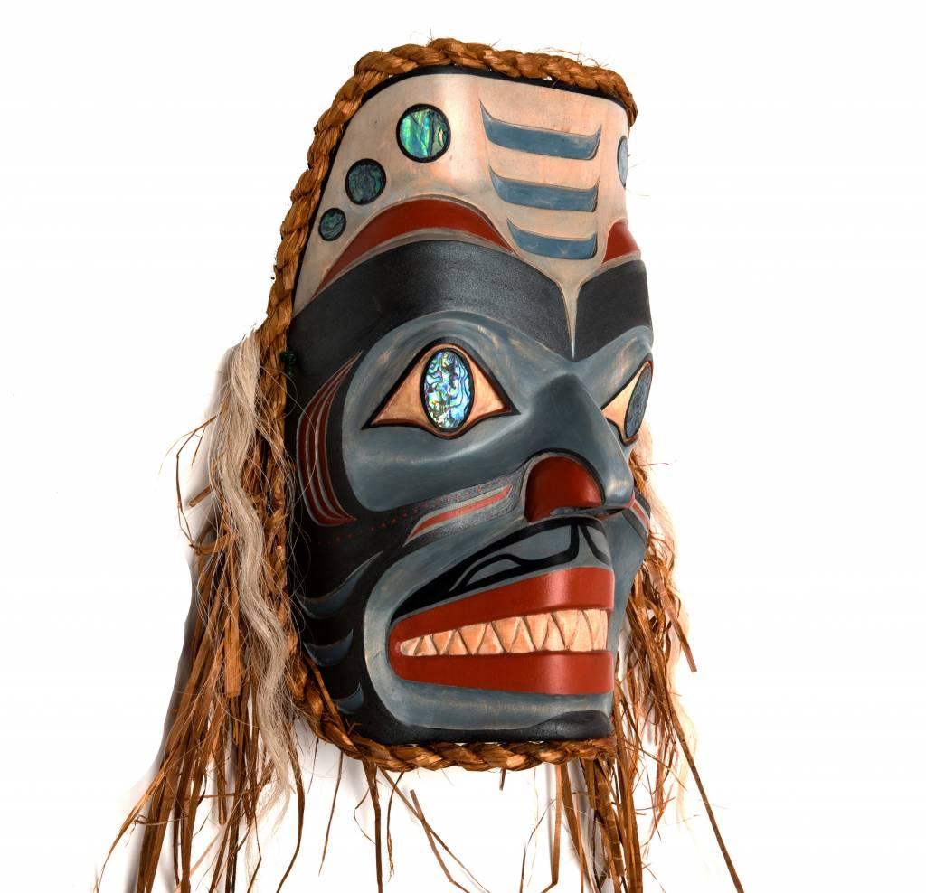 Shark Mask by Janice Morin and Randy Stiglitz