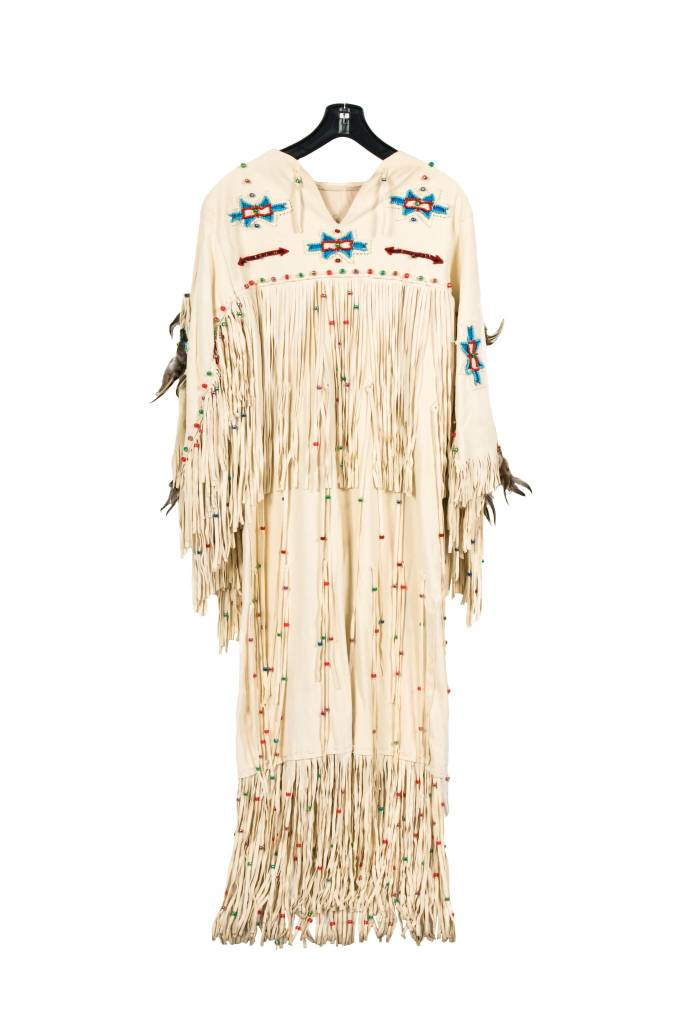Handmade Deerhide Wedding Dress