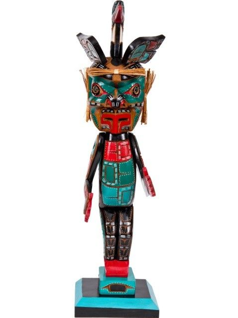 Kwak'waka'wakw Wren Figure