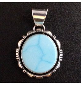 Natural Blue Ridge Pendant by Randy and Etta Endito