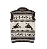 XS Cowichan Vest -  Deer Design
