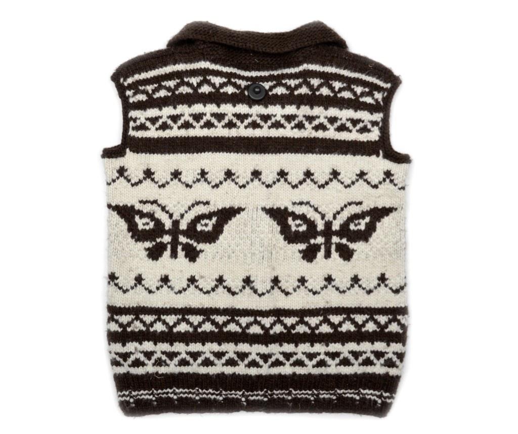 4XL Butterfly Cowichan Vest
