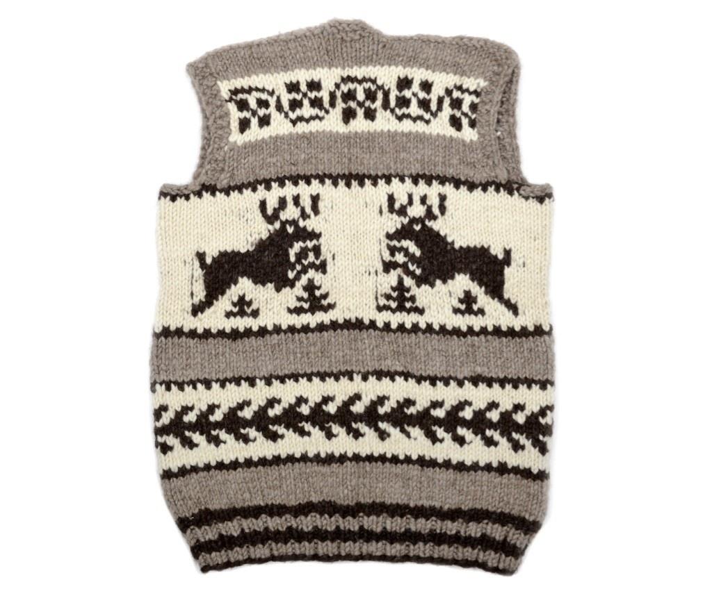 Cowichan Deer Vest - size Large