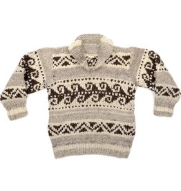 XXS Wave Pattern Pullover Sweater