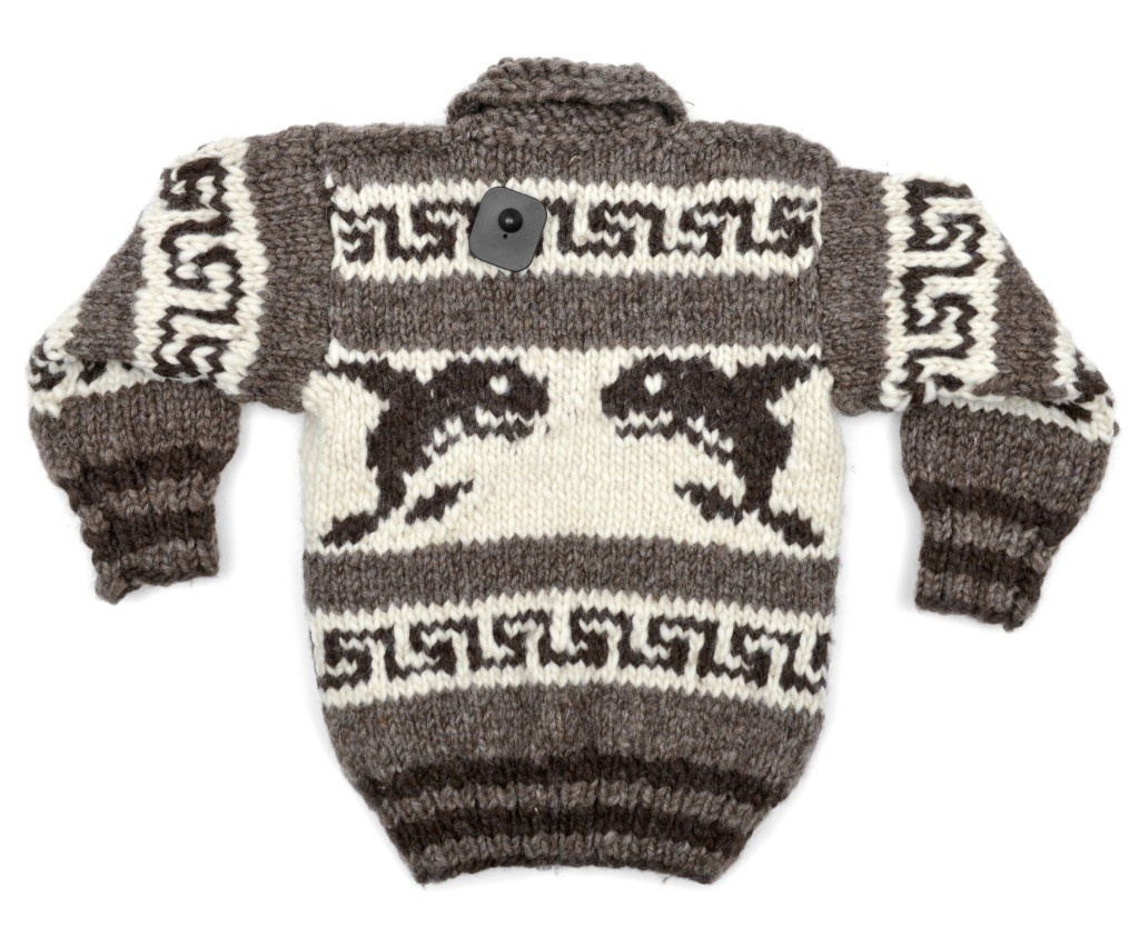 Child's Cowichan Orca Sweater