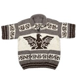 XL Short Sleeve Thunderbird Cowichan Sweater