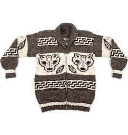 XS Wolf / Feather Sweater