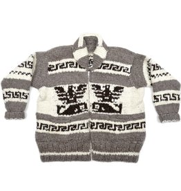 4XL Thunderbird and Orca Sweater with Pockets