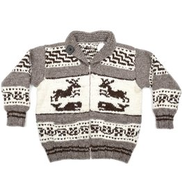 3XL Deer and Orca Sweater