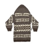 XS Specialty Cowichan Sweater with Hood and Belt