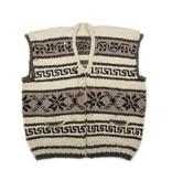 Plus size Snowflake Vest