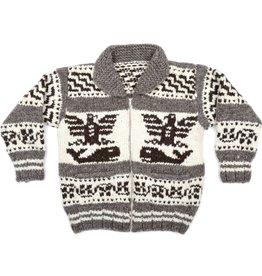 XXL Thunderbird and Orca Sweater with Lightning