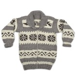 XS Long Snowflake Sweater