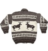 XL Cowichan Sweater - Bucks design
