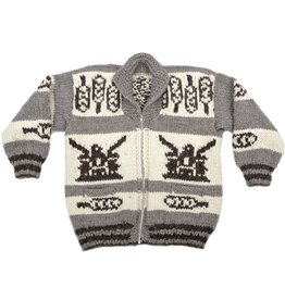 XL Eagle / Feathers Sweater