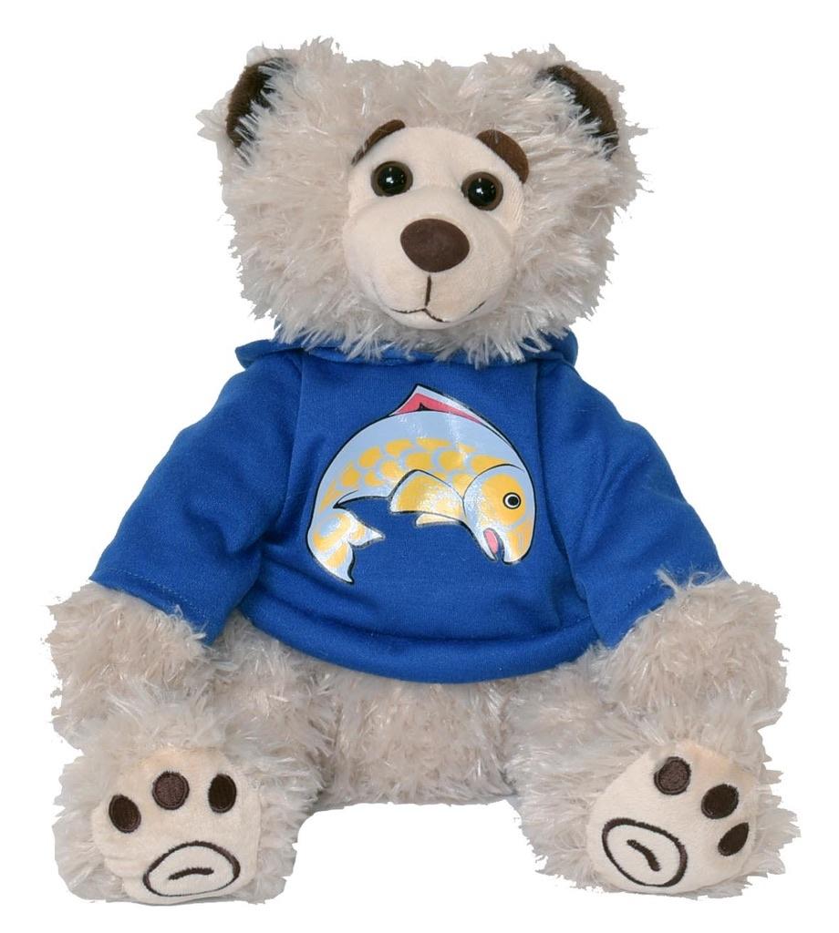 Bill Helin stuffed bear
