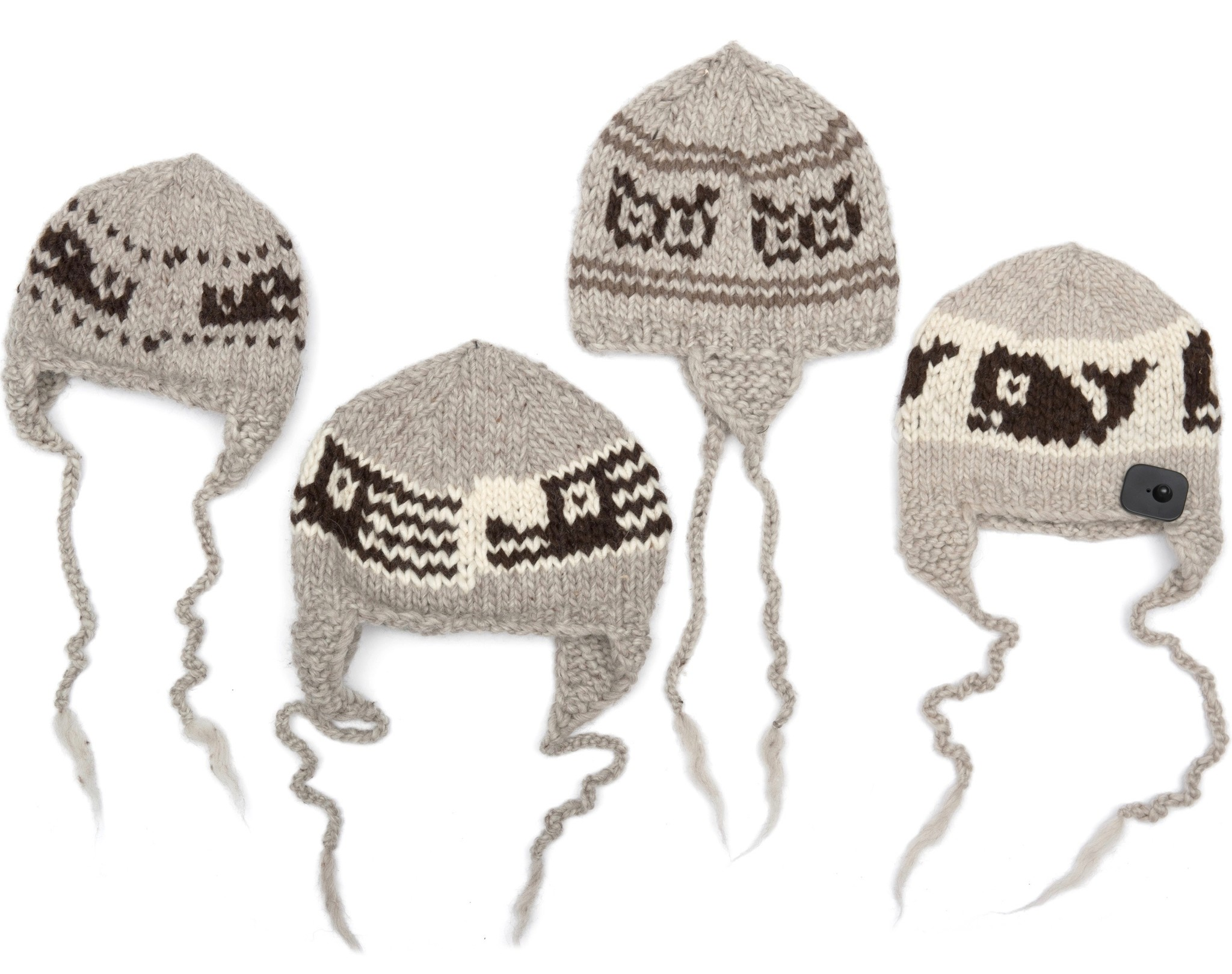 Cowichan Knit Helmet (Toque with Ear Flaps)