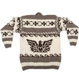 Small Thunderbird and Orca Pullover Sweater