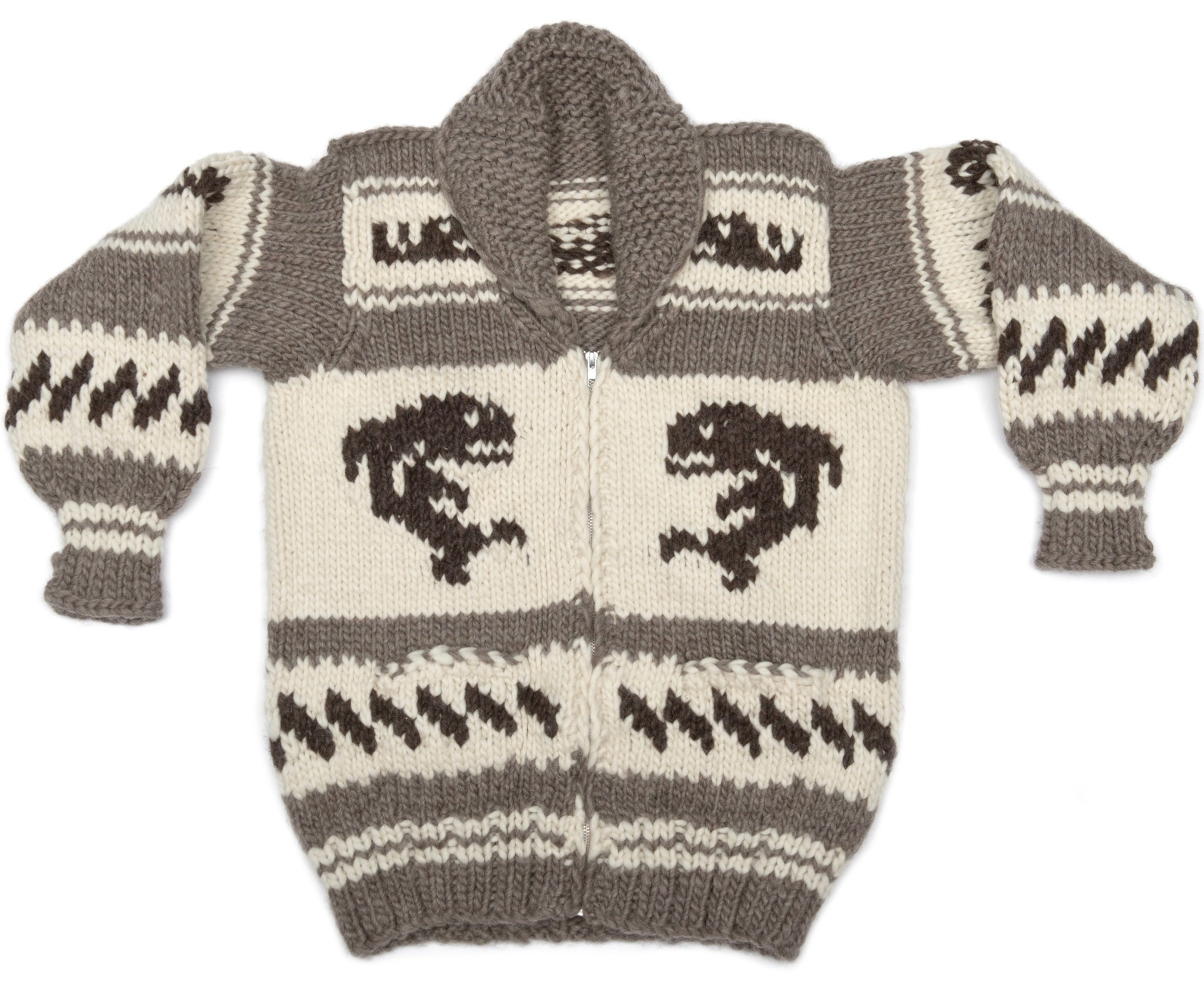 Med. Orca Cowichan Sweater