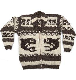 Cowichan Orca / Eagle Sweater size L