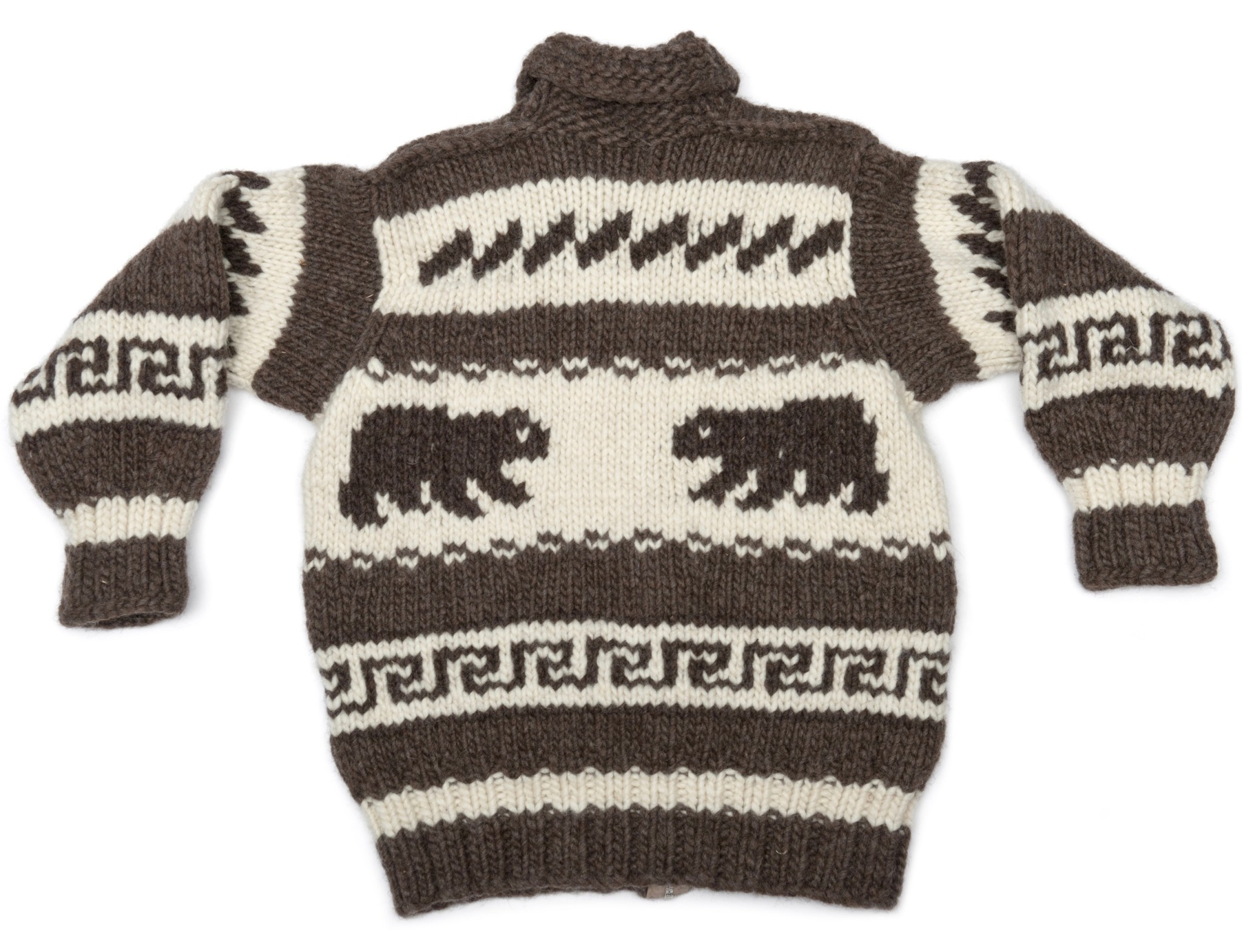 M/S Cowichan Bear Sweater
