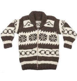 Small Cowichan Snowflake Sweater