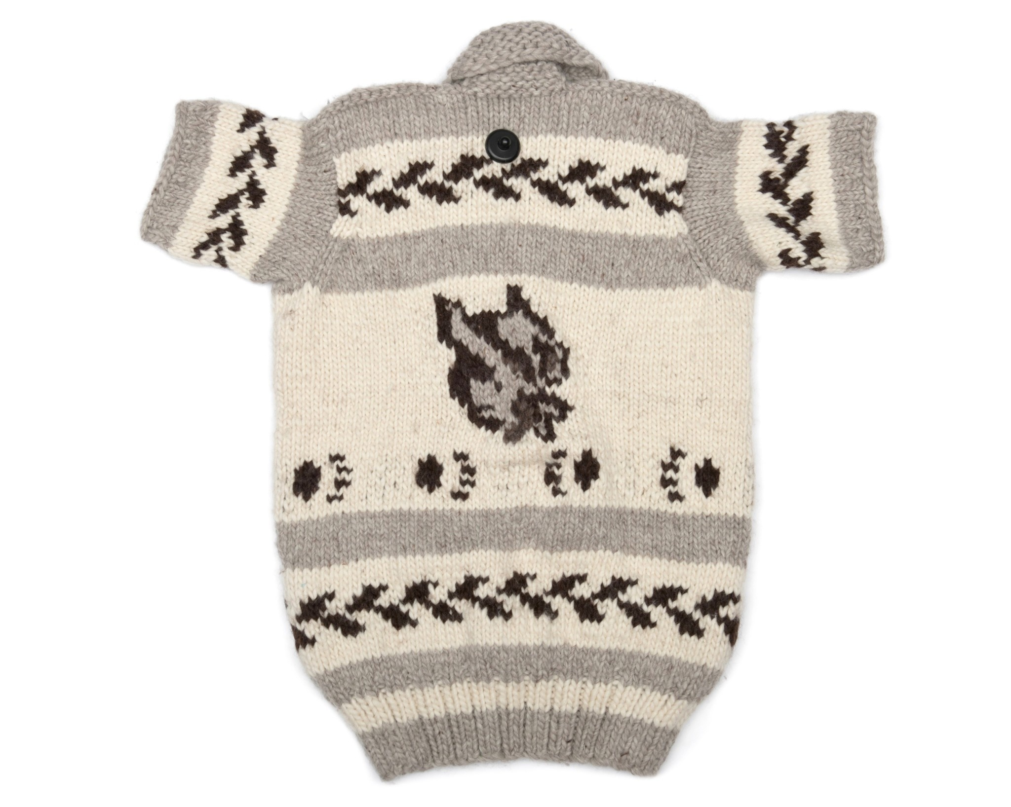 Short Sleeved Wolf Sweater