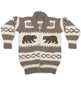Small Cowichan Bear Sweater
